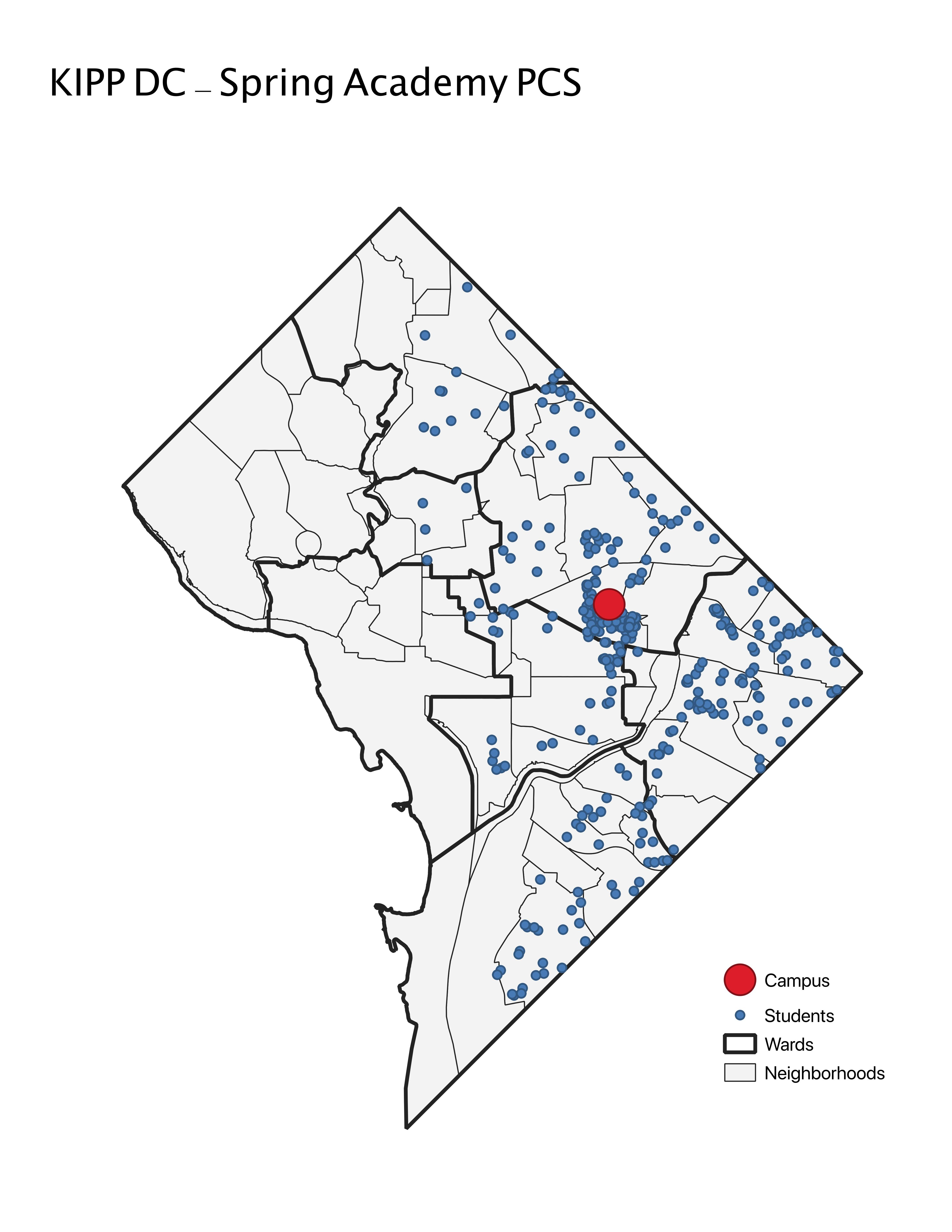 KIPP DC - Spring Academy PCS 2019 Student Location Map.jpeg