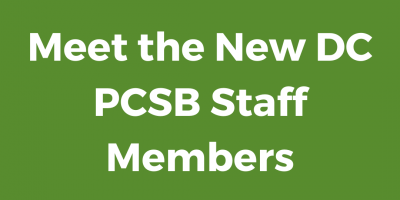 Meet the New DCPCSB Staff members